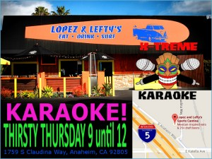 thirsty thursday karaoke