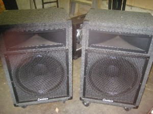 Cantora 15in Passive Speakers