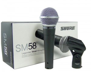 SHURE SM58 Wired Mic